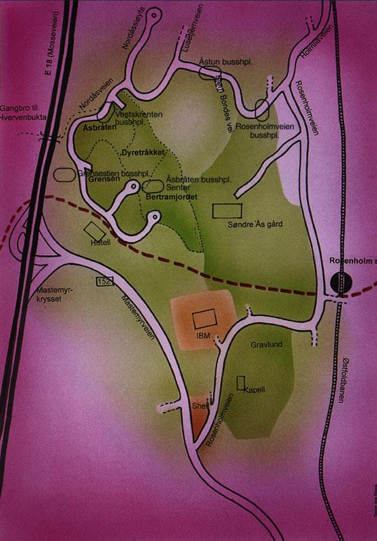 holmlia kart Åsbråten borettslag holmlia kart