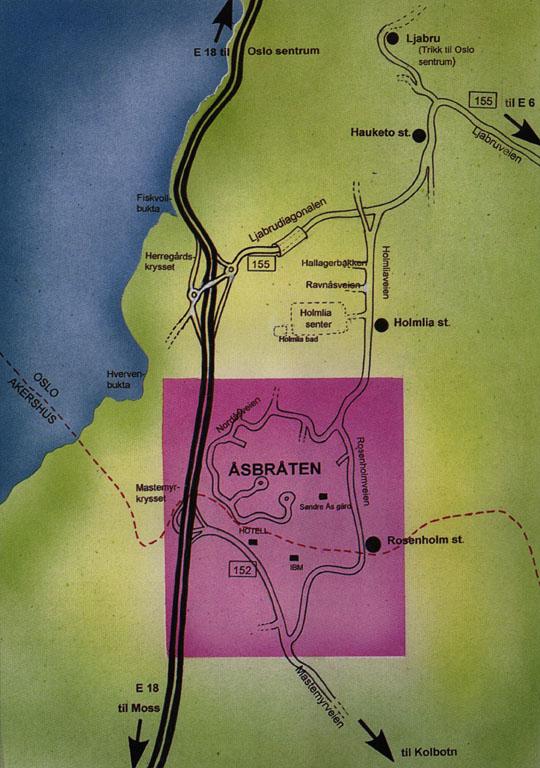hauketo kart Åsbråten borettslag hauketo kart
